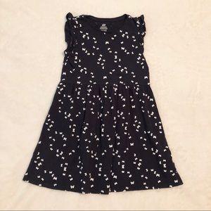 Navy H&M Butterfly Dress